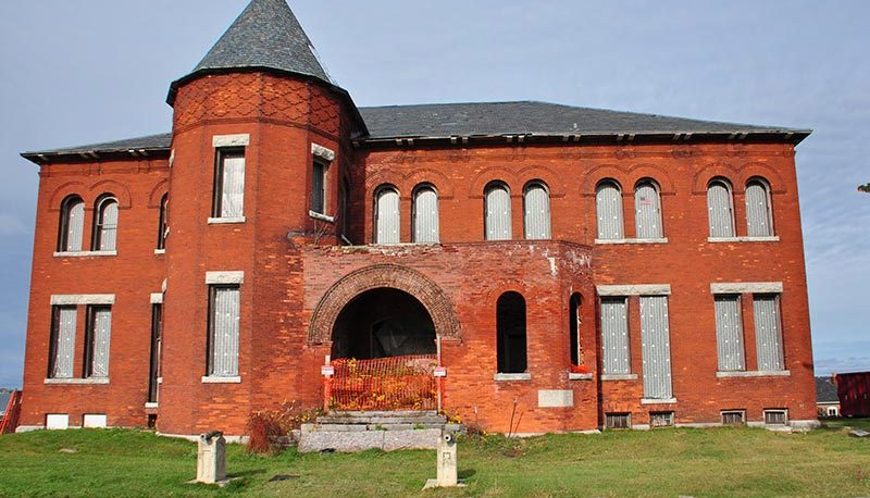 former US Army Mess Hall building